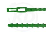 PE-Binder, 5,4 x 170 mm, grün, 100 Stück