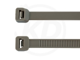 4,8 x 200 mm Kabelbinder, grau 100 Stück